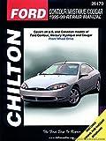 CH26170 Chilton Ford Contour Mystique Cougar 1995-1999 Repair Manual