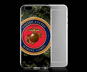 Light weight with strong PC plastic case for iphone 6 plusd 5.5 Lifestyle Military Green Camo Marine Corps