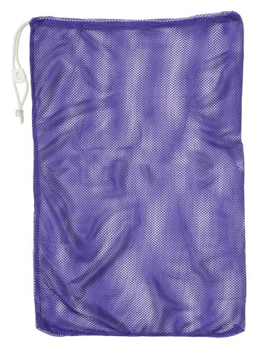 Clam Net - Champion Sports Mesh Equipment Bag (Purple, 12 x 18-Inch)