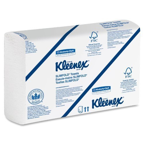 Amazon.com: Kimberly-Clark 04442 Kleenex Slimfold Towels, 2160 Towels, 90Shts/PK by Kimberly-Clark: Beauty