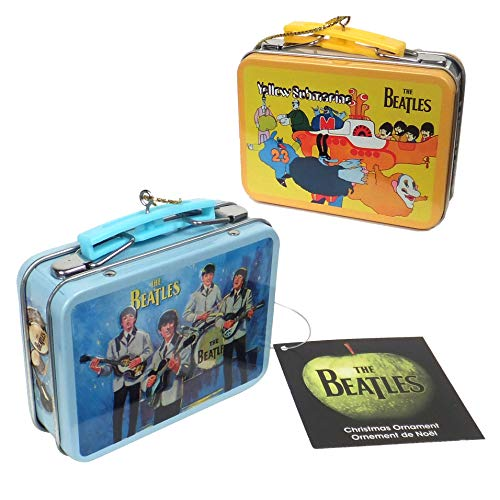 The Beatles Collectible: 2012 Miniature Replica Lunchboxes Ornament Set
