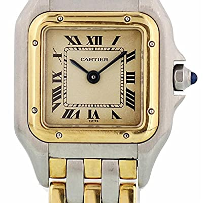 Cartier Panthere de Cartier Quartz Womens Watch 112000 (Certified Pre-Owned) by Cartier