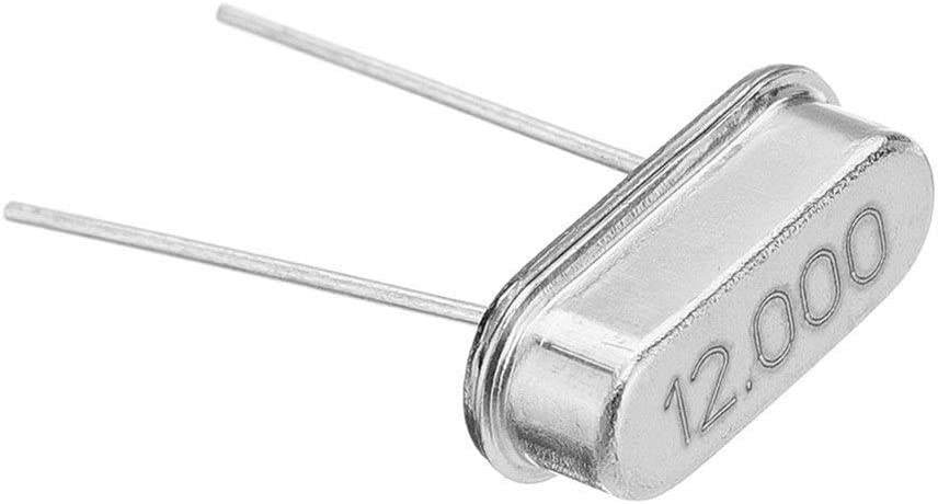 Nrthtri smt 10Pcs HC-49S 12MHz 12M Mini Passive Resonator Quartz Crystal Oscillator Module Other Equipments