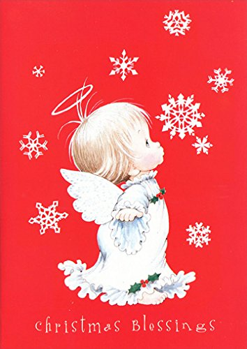 Amazon red angel paper magic ruth morehead box of 18 red angel paper magic ruth morehead box of 18 christmas cards m4hsunfo