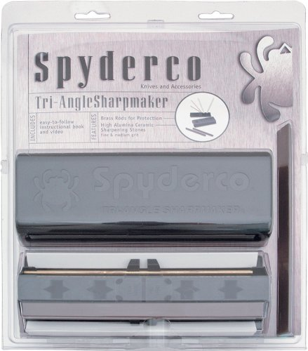 Spyderco Tri-Angle Sharpmaker.