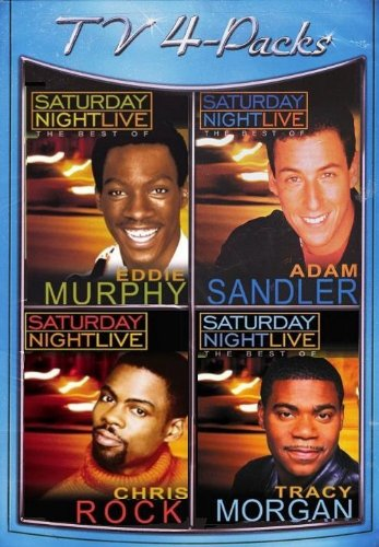 The Best of Saturday Night Live 4-Pack (Eddie Murphy/Adam Sandler/Chris Rock/Tracy Morgan)
