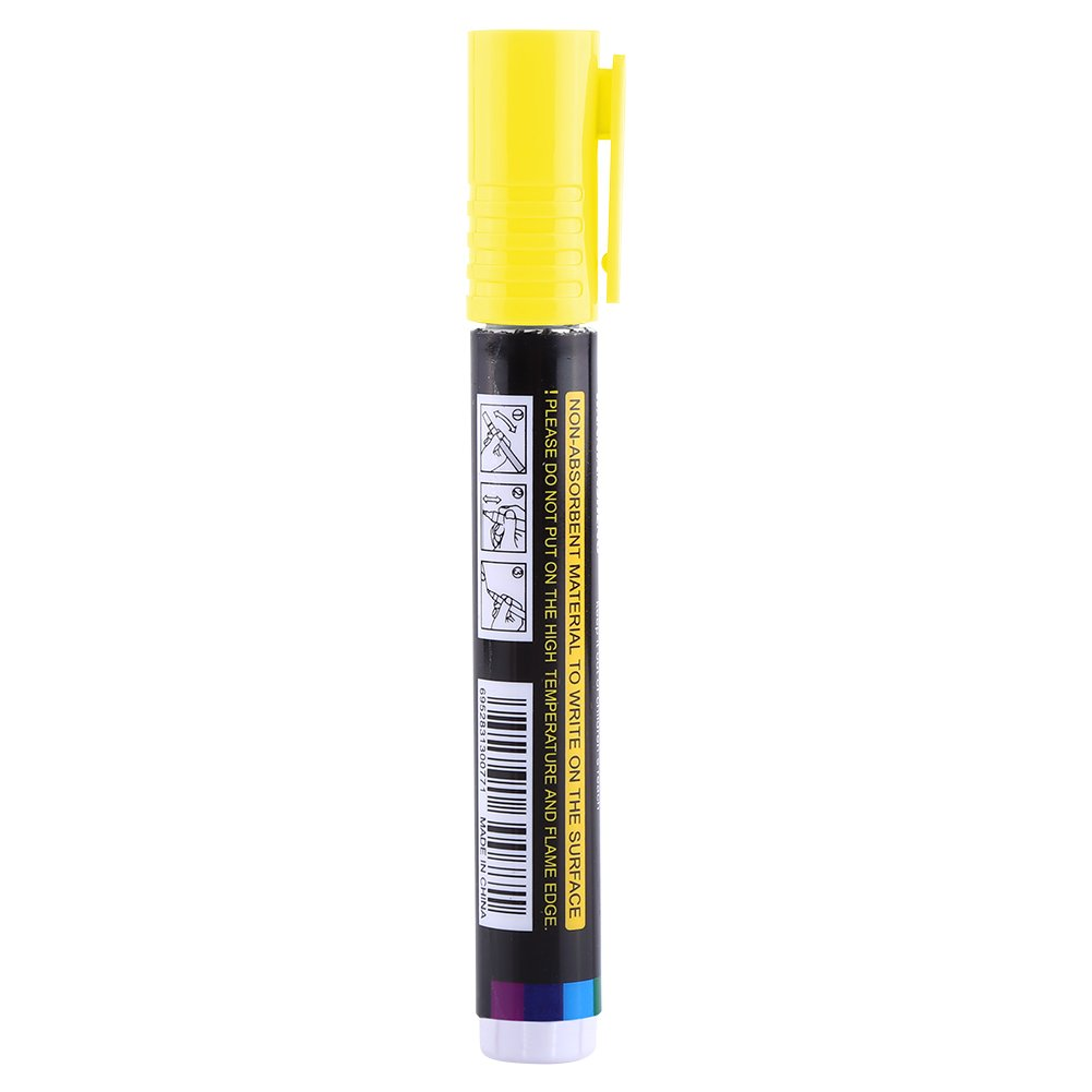 Yellow Queen Bee Marker Pen,High Quality Plastic Bee Queen Marker Pen Mark Paint Tool Bee Keeping Tools 8 Colors