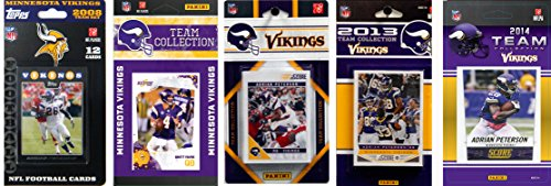 NFL Minnesota Vikings Licensed Trading Card Team Set by C&I Collectables