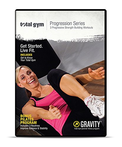 Total Gym Progression Series 4 DVD Set