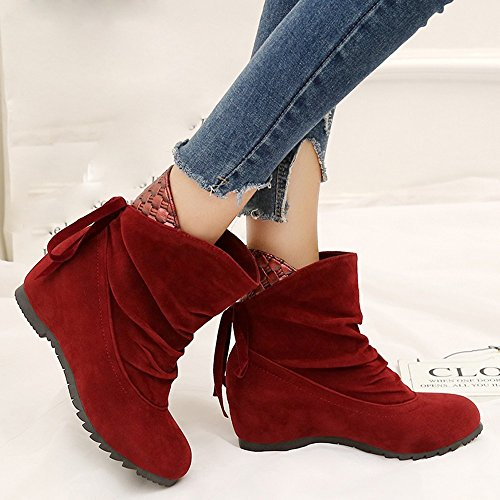 Boots Heeled Toe Insoles Lolittas Riding Chukka Steel Platform Red Walking Winter Cap Ankle Military Shoes Women Desert Flat Zipper PATEn6qwE