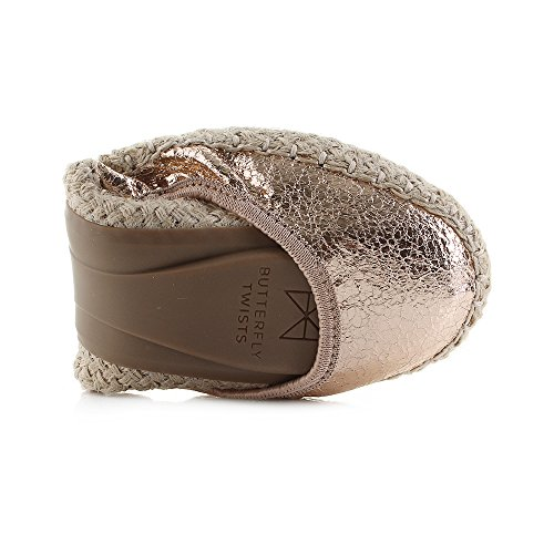 Butterfly Twists Damen Gigi II Geschlossene Ballerinas Gold (Rose Gold)