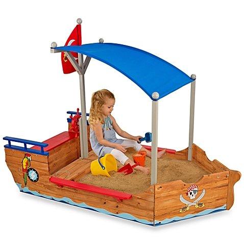 KidKraft 18542587 Pirate Sand Boat by KidKraft