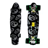 RIMABLE Complete 22' Skateboard (black sckull)