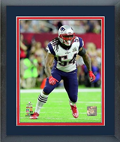 Donta Hightower New England Patriots Super Bowl Li Action Photo  Size  13  X 16   Framed