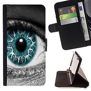- Dead Eye/ Personalizada del estilo del dise???¡Ào de la PU Caso de encargo del cuero del tir????n del soporte d - Cao - For Samsung Galaxy S6 EDGE