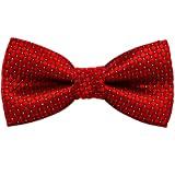Baicfquk® Dog Bow Ties, Adjustable Bow tie, Fashion Accessories for Pet Dog Cat BT286 (Red)