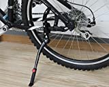 TAIKA Aluminum alloy adjustable Bicycle Kickstand, Mountain Bike Fits 24 - 28 Inches Bicycles