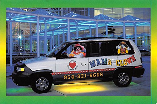 Mama Clown & Friends Party & Event Planning serving Florida Circus Clown Postcard