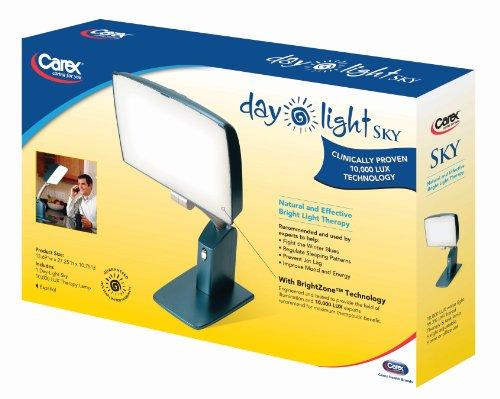 Carex Health Brands Day-Light Sky 10,000 LUX Bright Light Therapy Lamp (DL2000) by Carex Health Brands (Image #4)