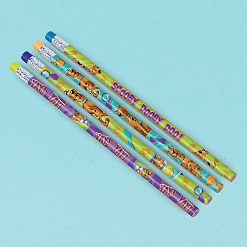 Amscan Awesome Scooby-Doo Pencil Favors Birthday Party Favor, 7-1/2