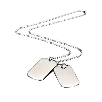 76ba26be7808 Wistic Jewelry Hombre acero inoxidable  Amazon.es  Joyería