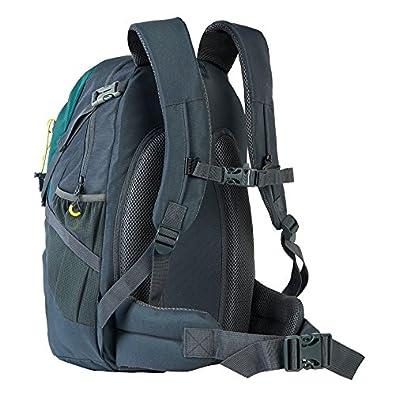 Columbus Highland 25 Mochila para Senderismo, Unisex, Verde/Gris Oscuro, 25 L: Amazon.es: Zapatos y complementos