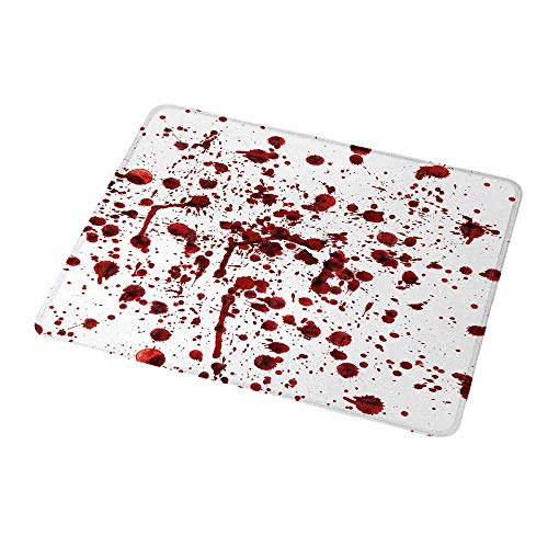 Personalized Custom Gaming Mouse Pad Horror,Splashes of Blood