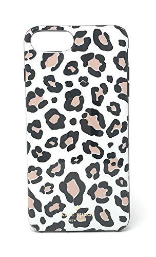 Leopard Iphone Case (Kate Spade New York Leopard Print Protective Rubber Case For iPhone 7 Plus & iPhone 6 Plus)
