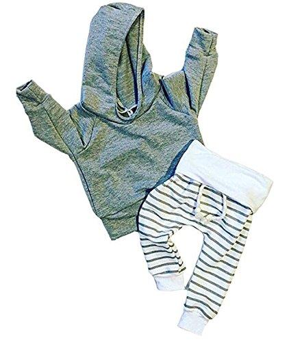 Baby Boy Clothing Sets (Grey) - 2