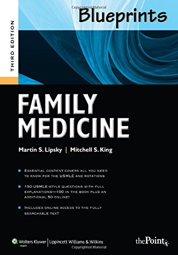 Blueprints Family Medicine, 3rd Edition (Blueprints Series)