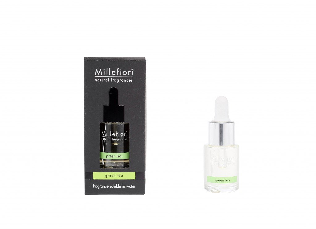 FRAGRANZA IDROSOLUBILE GREEN TEA MILLEFIORI MILANO 15 Ml