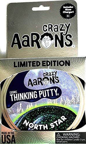 (North Star Cosmic Holiday Christmas Crazy Aaron's Thinking Putty 3.2oz, Made in The USA, Age)
