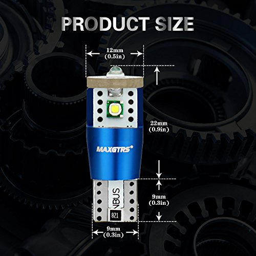 자동차 LED 전구 T10 194 168 192 175 W5W 매우 밝은 오류 무료 C..