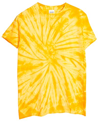 yellow tie dye - 4