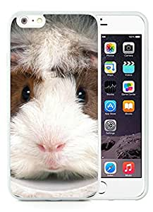 New Fashion Custom Designed Cover Case For iPhone 6 Plus 5.5 Inch With guinea pig funny face White Phone Case