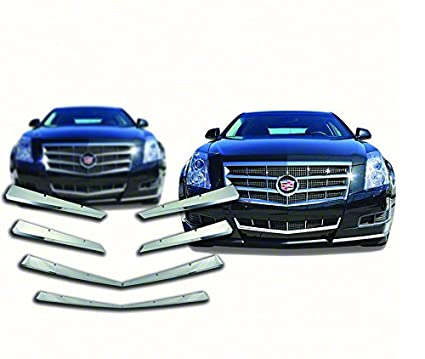 2008-2011 Cadillac CTS Chrome Grille Overlay
