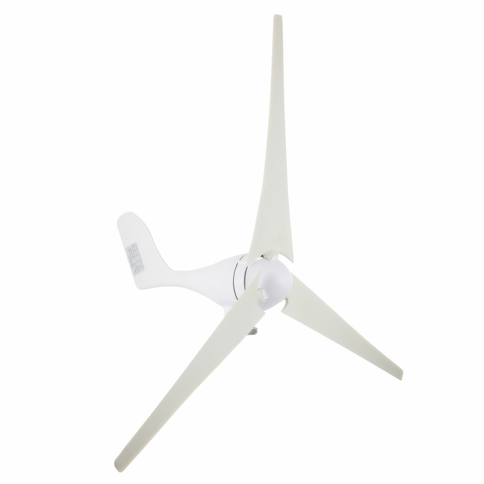 Popsport Wind Generator 400W Hybrid Wind Turbine Generator DC 12V/24V Turbine Wind Generator 3 Blades Light and Powerful Wind Generator Kit for Home Use (400W) by Popsport