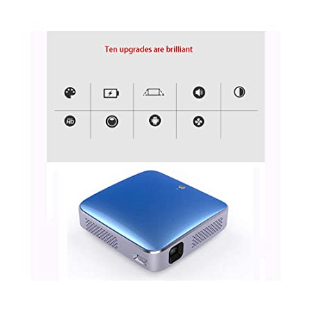 Link Co Proyector led WiFi Bluetooth inalámbrico Conecta el ...