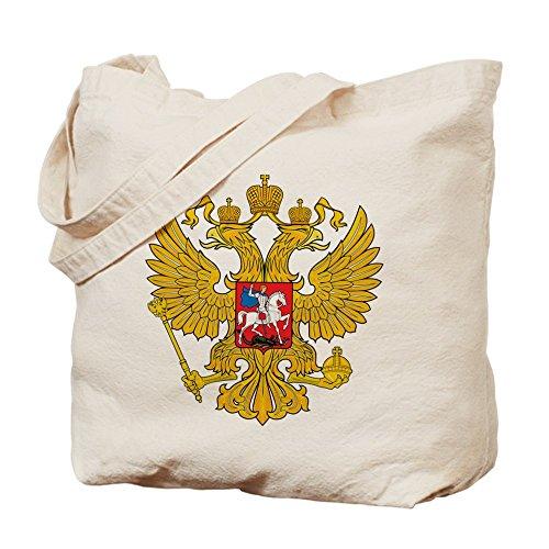 CafePress Design unico Russia Coat of Arms-Borsa, colore Standard