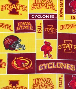 Iowa State Cyclones Allover NCAA Fleece - by The ()