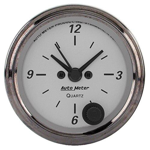 Clock Platinum - Auto Meter 1986 American Platinum Clock