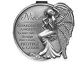 Niece Guardian Angel Visor Clip.