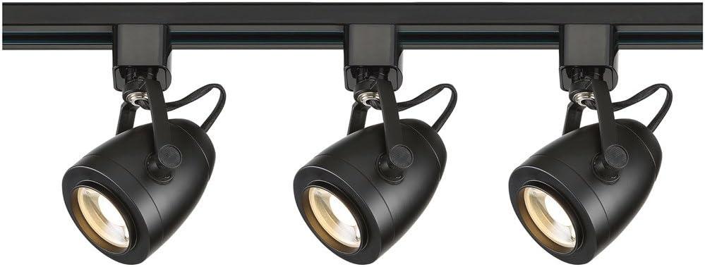 B//S Nuvo TK417 Three Light Track Kit Slvr Pwt Nckl