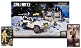 Mega Bloks Call of Duty Arctic Invasion + New York Comic Con (NYCC) Exclusive Gold Ghosts Astronaut & Ghosts Tactical Combat Mini Action Figure Set (1 of Each)