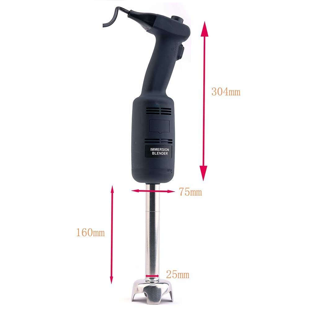 Zz Pro Commercial Electric Big Stix Immersion Blender Hand held variable speed Mixer 220 Watt power with 6-Inch Removable Shaft, 6-Gallon capacity(MW220S6) by ZzPro (Image #5)