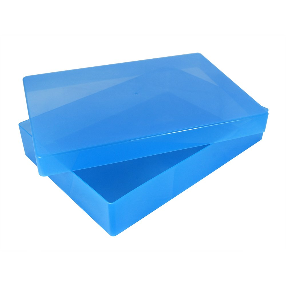 Red, Pack of 40 WestonBoxes A4 Plastic Craft Storage Boxes