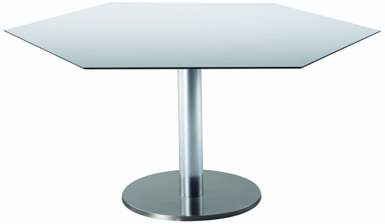 Amazon De Best 43591354 Tisch Turin Sechseckig 120 X 140 Cm