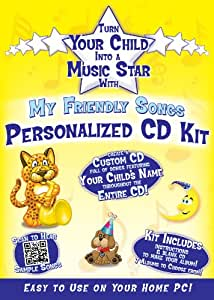 Personalized Music Box CD Sings Your Child's Name