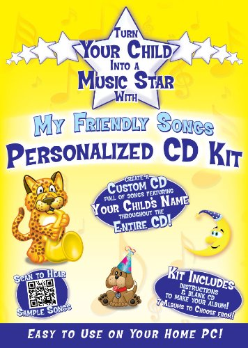 - Friendly Songs Personalized Music Box CD Sings Your Child's Name