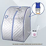 New 2L Portable Home Steam Sauna Spa Full Body Slimming Loss Weight Detox Therapy